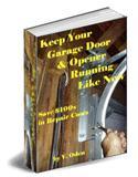 garage door opener maintenance ebook do it yourself